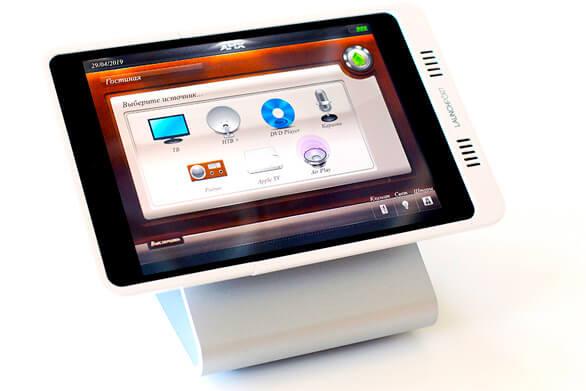 Управление умным домом с планшета