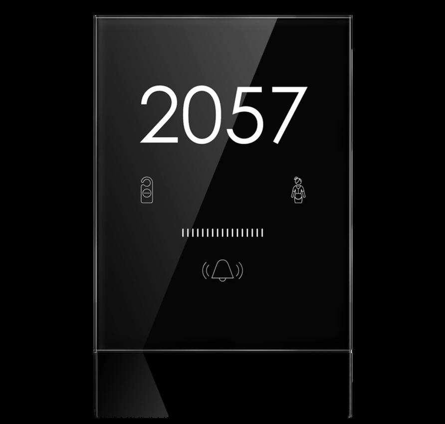 Умный выключатель специальная серия ARIA Black Nova для гостиничных комплексов