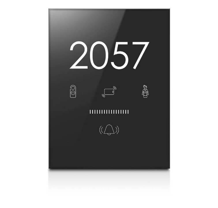 Умные выключатели специальная серия ARIA Black Nova для гостиниц