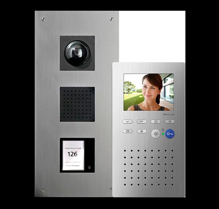 Комплект видеодомофона TCS серии AMI и Adapto