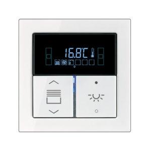 Комнатный контроллер с дисплеем F40, FD-Design, 2 клавиши, JUNG