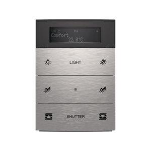 Умный выключатель и термостат B.IQ 3-х клавишный, Berker