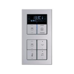 Комнатный контроллер с дисплеем F40, Acreation, 8 клавиш, JUNG