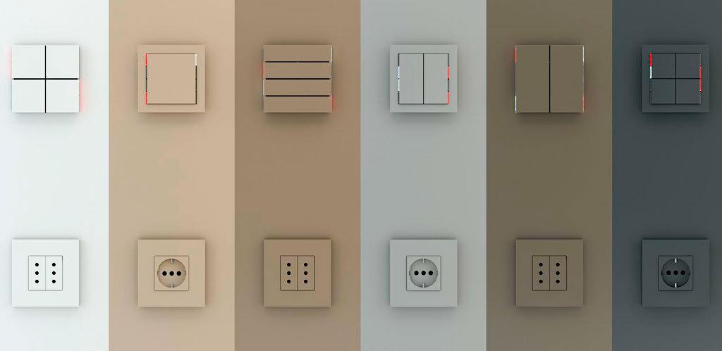 Ekinex выключатели и розетки для систем домашней автоматизации